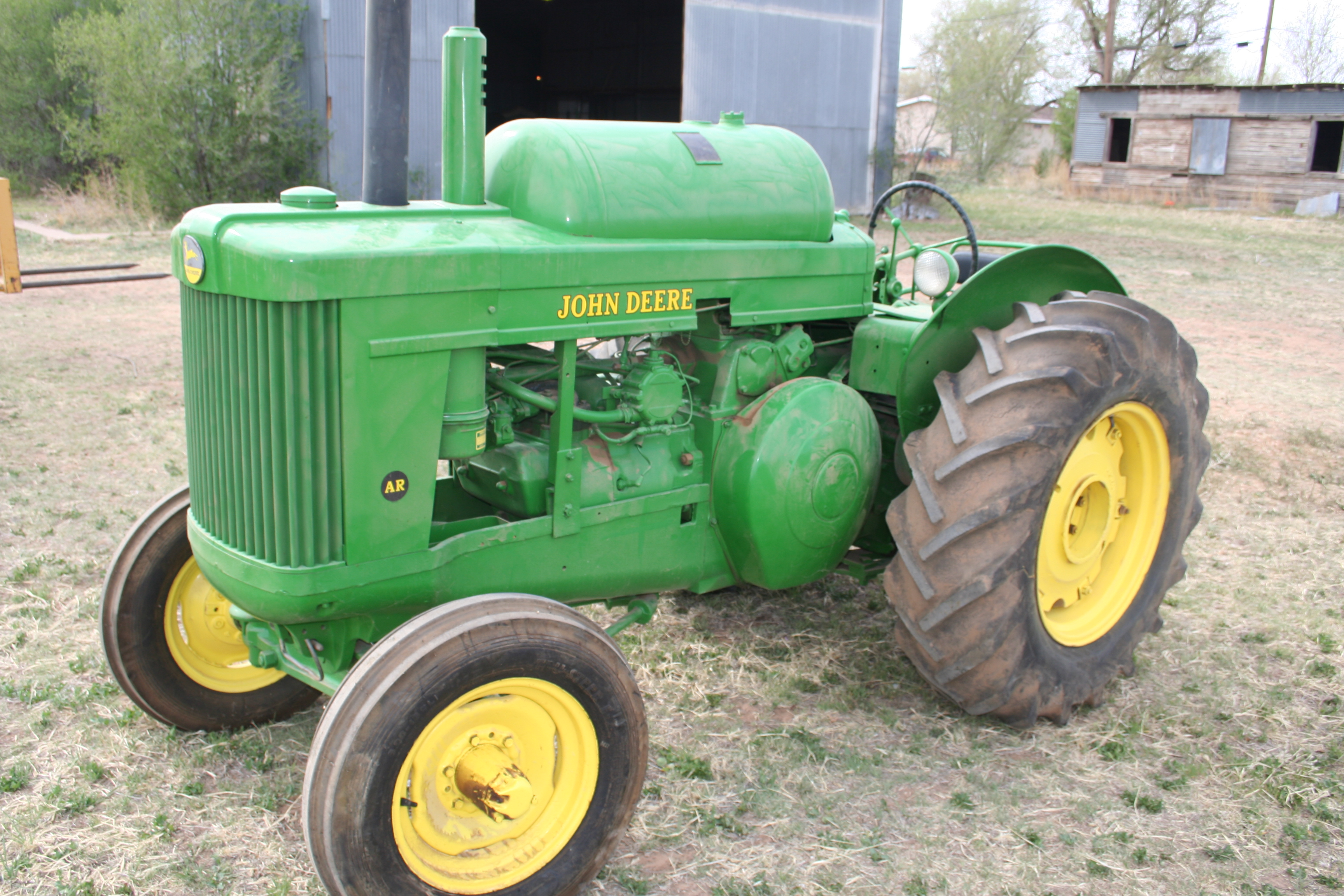 John Deere AR (1950) | Troy's Tractors