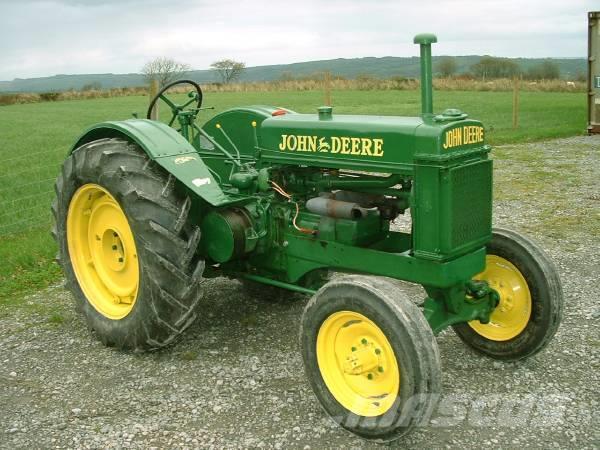 Used John Deere BR veterantraktor tractors Year: 1938 ...