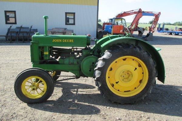 Used John Deere BR veterantraktor tractors Year: 1940 ...