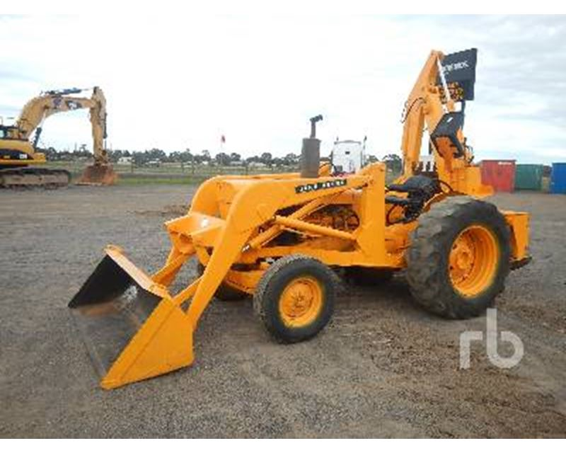 John Deere JD400 Backhoe For Sale - Corio ...