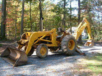 Used Farm Tractors for Sale: 1969 John Deere JD400 Backhoe ...