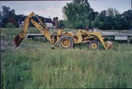 Cost to Ship - John Deere jd400 Backhoe - from Gloucester ...