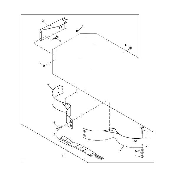 Walk Behind Mower Parts > Model 7G18 Commercial > John Deere 48 ...