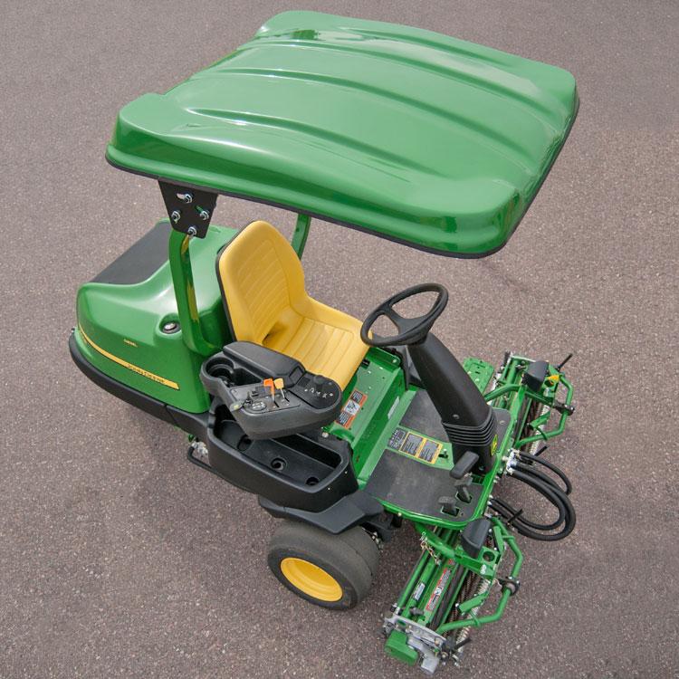 NX Fiberglass Canopy Kit for John Deere Golf & Sport Mowers