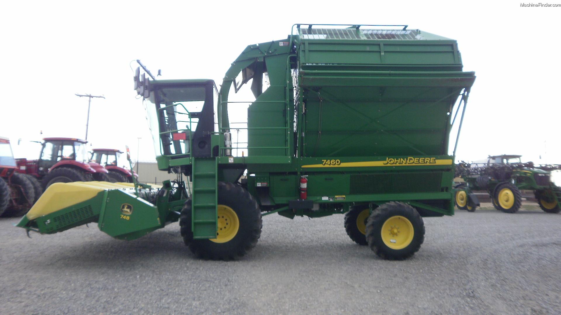 2007 John Deere 7460 Cotton Harvesting - Strippers - John ...