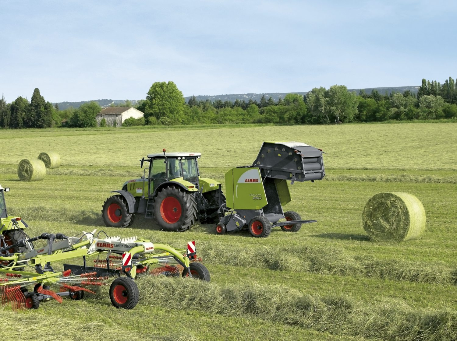 ROLLANT 260 - Round balers | CLAAS