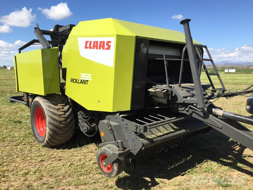 Used CLAAS Rollant 355 Uniwrap round balers Year: 2010 ...