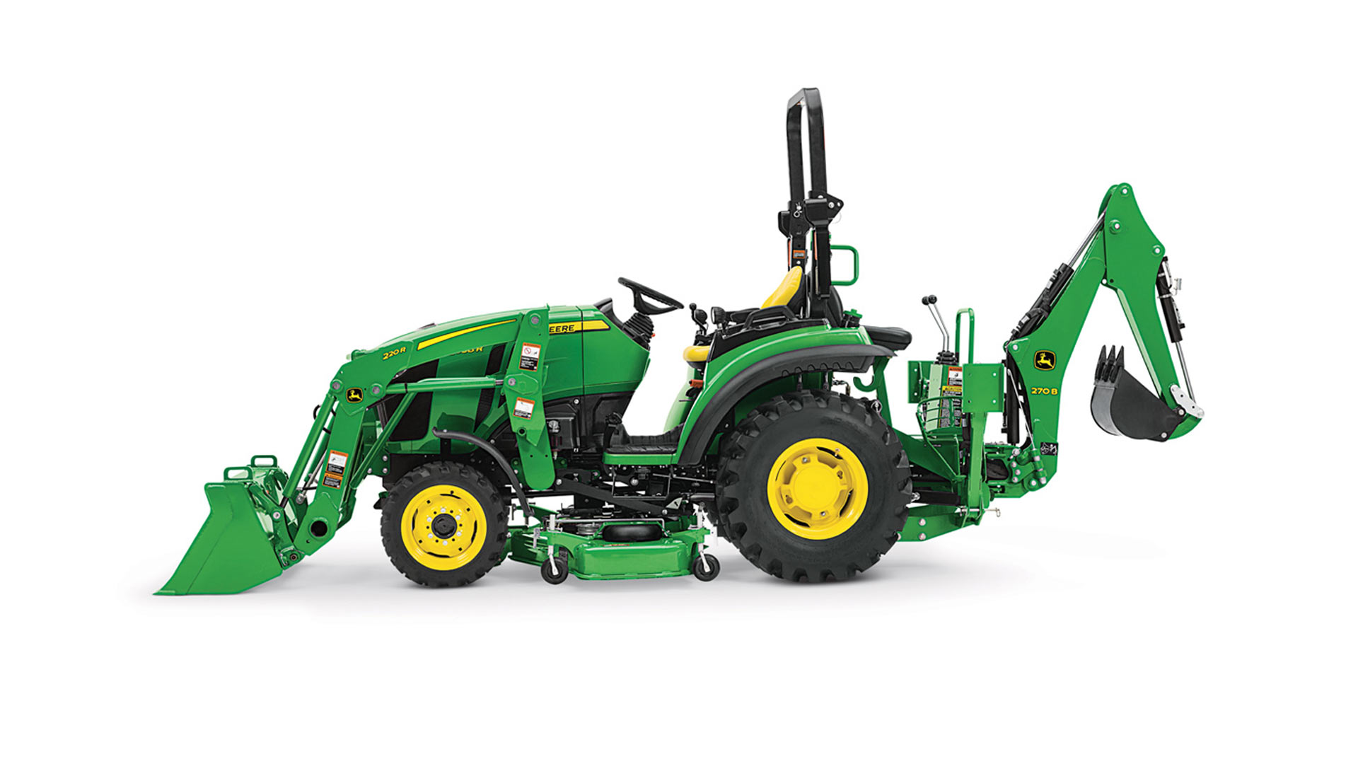 Utility Tractor Attachments & Implements | John Deere US
