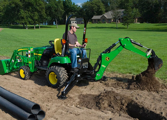 260 Backhoe - New Compact Utility Tractor Attachments ...