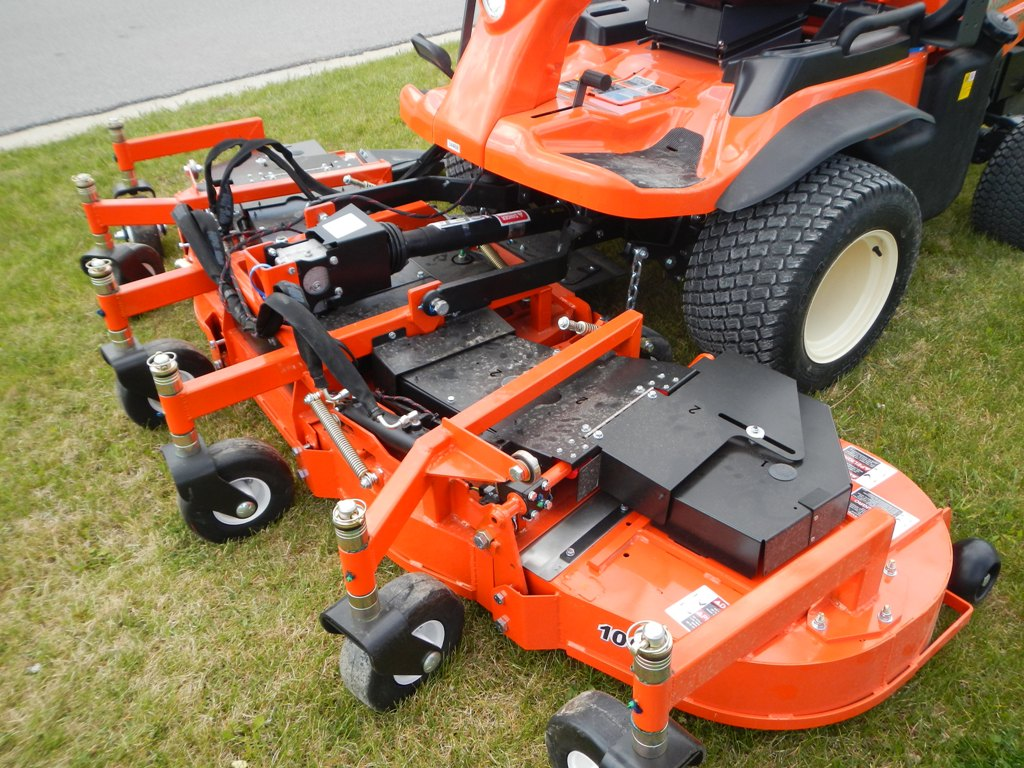 Just In: Kubota's F3680 Front-Mount Mower with 100 inch ...