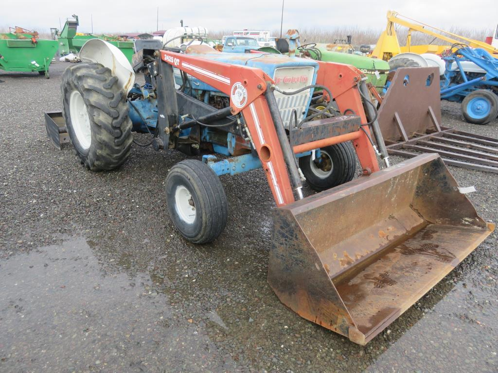 Ford 4000 Wheel Tractor with Loader Attachment