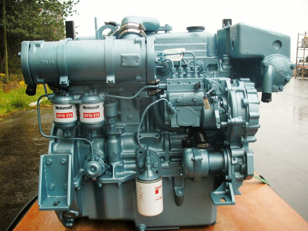 Ford Mermaid Marine Diesel Engine|Winchester Marine Industrial