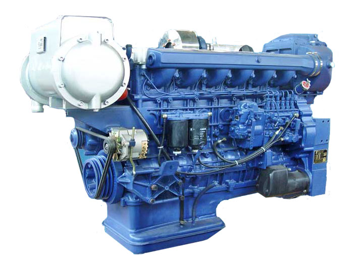 Weichai LandKing WP12C Series Marine Diesel Engine - DPS ...