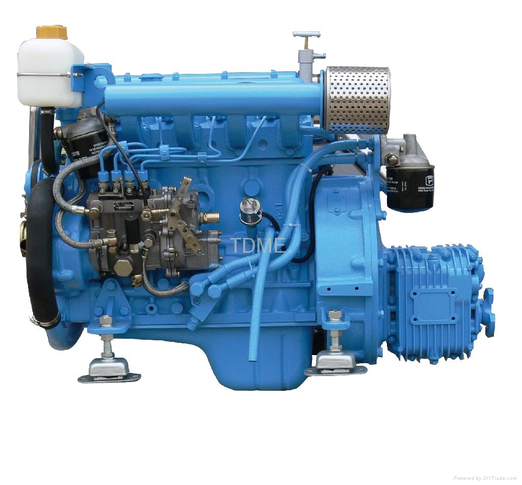 46Hp Marine Diesel Engine - TDME-485 - TDME (China ...