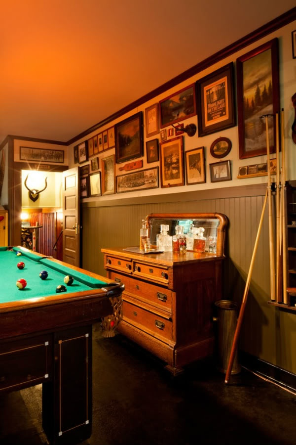 77 Masculine Game Room Design Ideas | DigsDigs