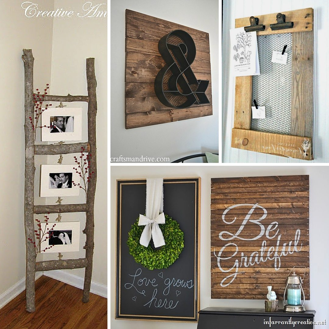 31 Rustic DIY Home Decor Projects | Refresh Restyle