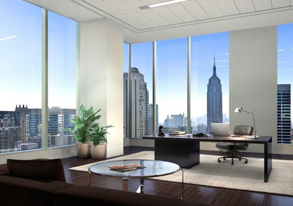 Office Design | Corner Office | CEO Office
