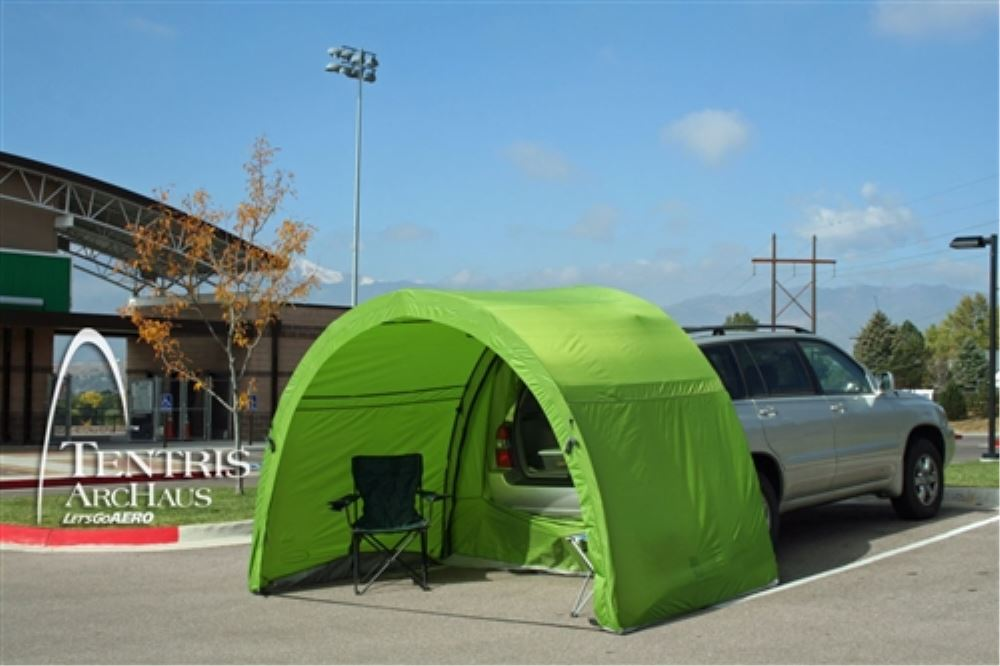 Let's Go Aero ArcHaus Tailgate Tent for 5' Hatches - 10 ...