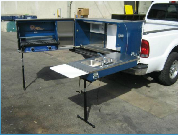 Ultimate Tailgate & Camping Kitchen! - Got the Goods ...