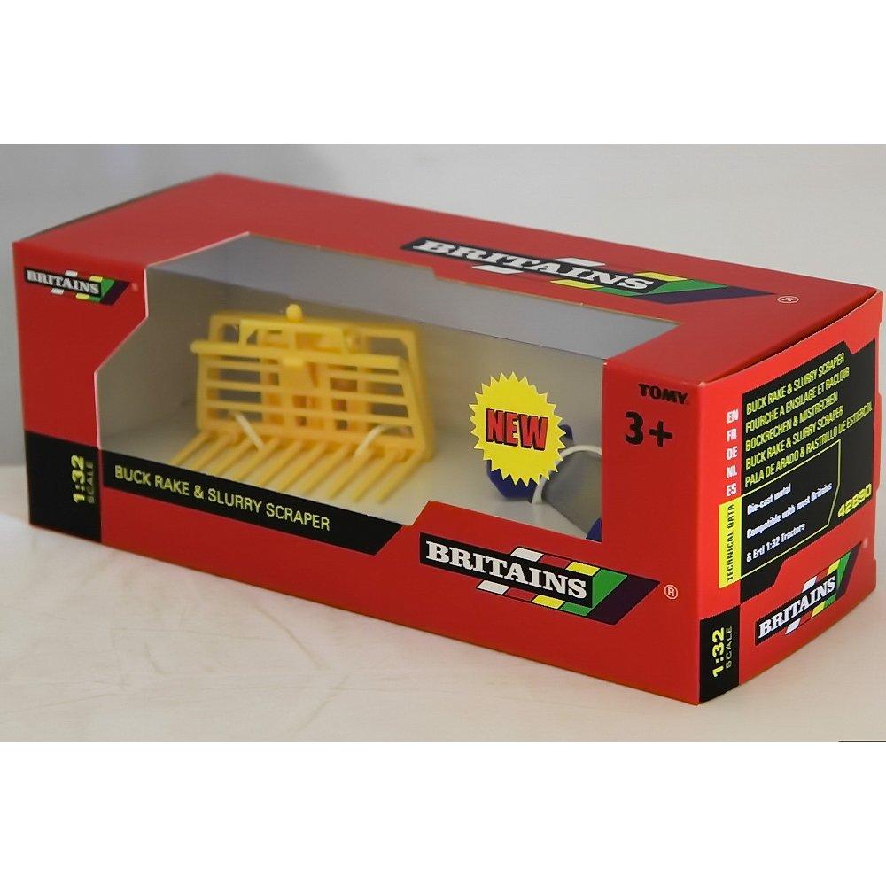 Britains 42890 Buck Rake And Slurry Scraper 1/32 Scale ...