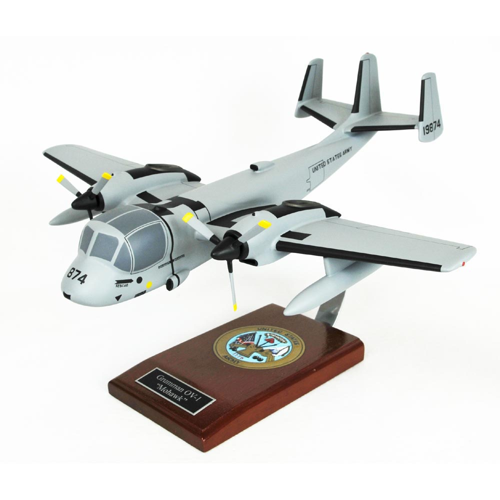 OV-1 Mohawk Model Aircraft 1/32 Scale Propeller Military ...
