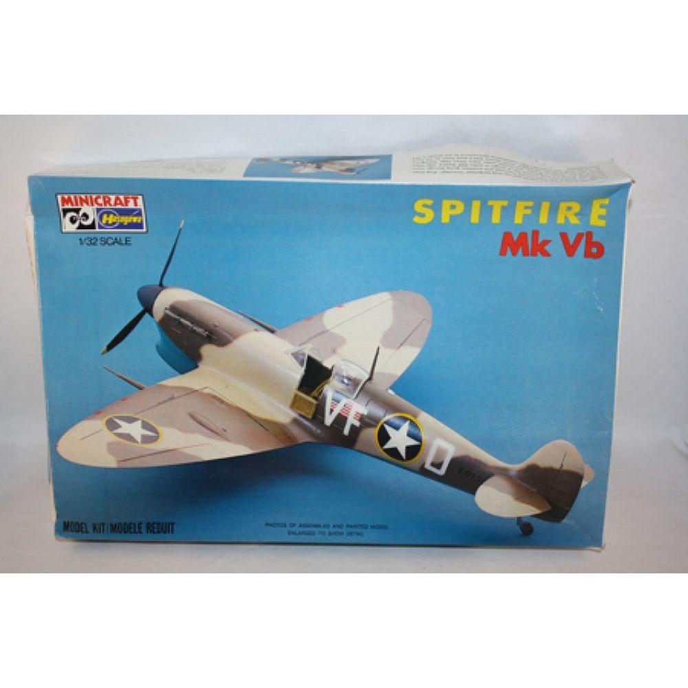 MICROCRAFT HASEGAWA SPITFIRE MK VB 1/32 SCALE PLASTIC ...