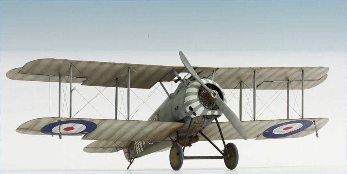 Sopwith Snipe Biplane late WWI 1/32 Scale Model Plane