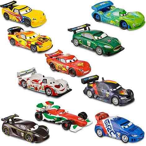 Cars Paq. De 2 Carros Jhon Y Jeff Gorvette - $ 270.00 en ...