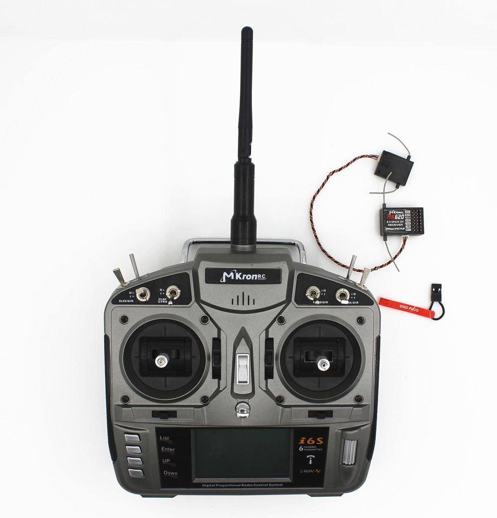 RC 2.4gh 6ch Radio remote control Transmitter with MK620 ...