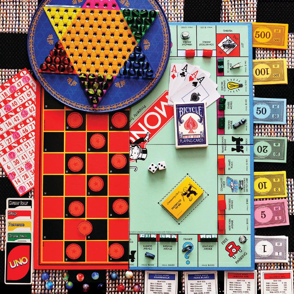 Board Games Jigsaw Puzzle   PuzzleWarehouse.com