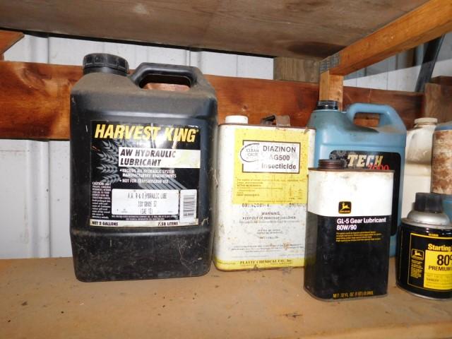 John Deere gear lube and starting fluid