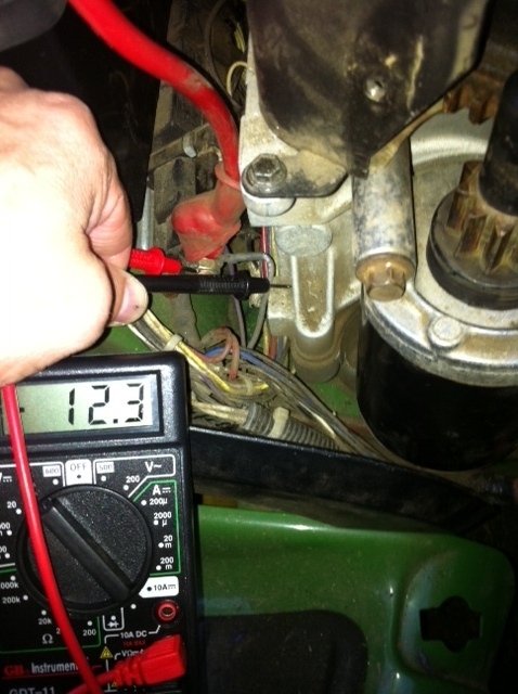 I have an LT155 lawn tractor that won't start. The starter ...