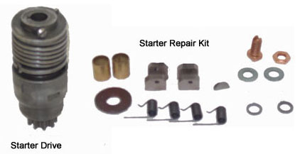 Tractor Parts - John Deere Starter drives and starter ...
