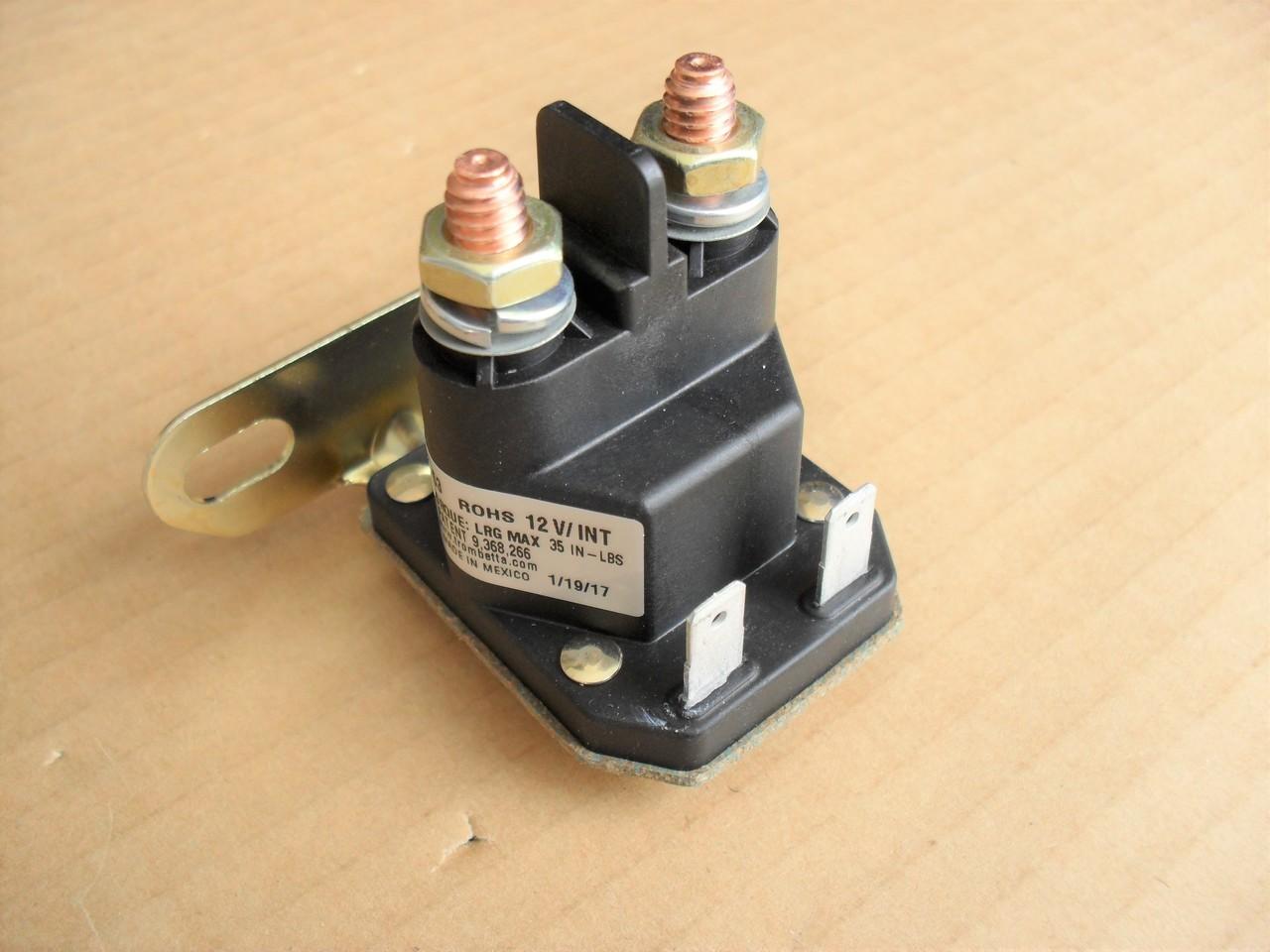 Starter Solenoid for John Deere, Scotts D110, L100, L105 ...