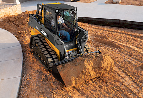 Compact Track Loader with best-in-class visibility   323E   John Deere ...
