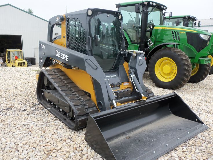 John Deere 333E compact track loader   JD construction equipment   P ...