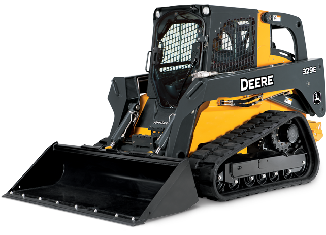 Compact Track Loader with courtesy lighting | 329E | John Deere US