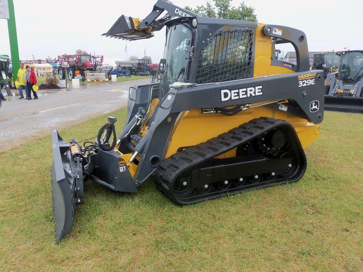 John Deere compact track loader | JD construction equipment | Pintere ...