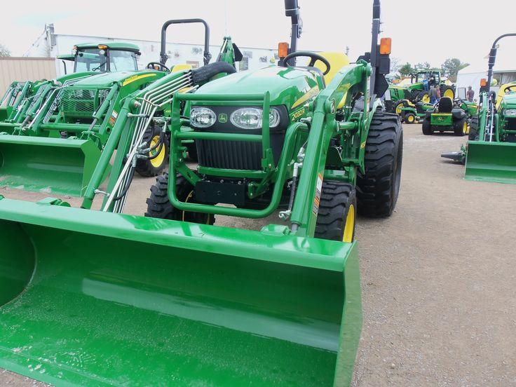 John Deere 2032R with H130 loader | John Deere equipment | Pinterest