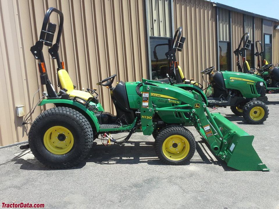 TractorData.com John Deere 2032R tractor photos information