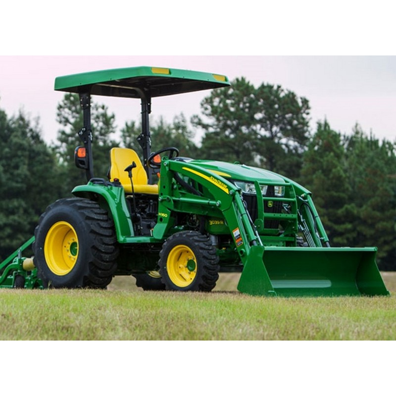 john deere h160 front loader home john deere compact utility tractors ...