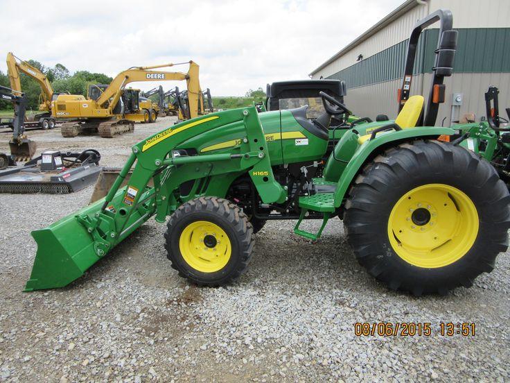JOhn Deere 4105 equipped H160 loader   John Deere equipment ...
