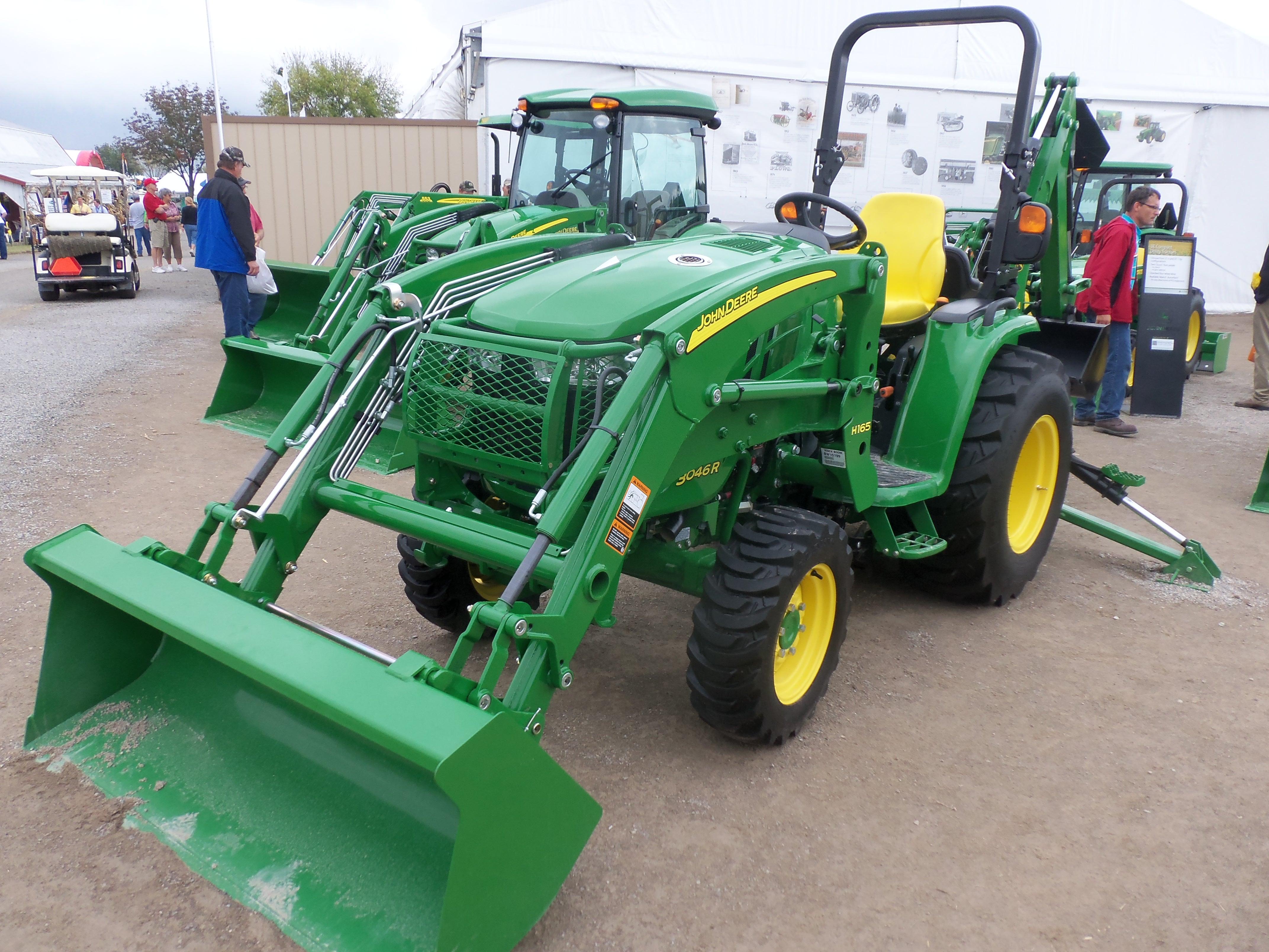John Deere 3046R with H165 loader | John Deere equipment | Pinterest