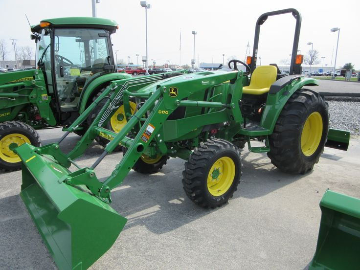 JOhn Deere 4052M with D170 loader | John Deere equipment | Pinterest ...