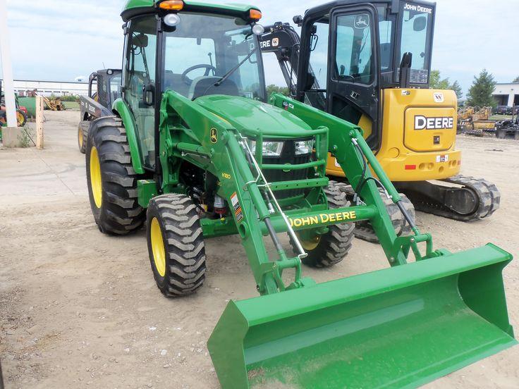 New John Deere 4066R with H180 loader | John Deere equipment ...