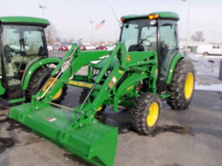 John Deere 4052R with H180 loader | John Deere equipment | Pinterest ...