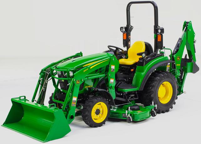 Compact Tractors   2038R Compact Tractor   John Deere US