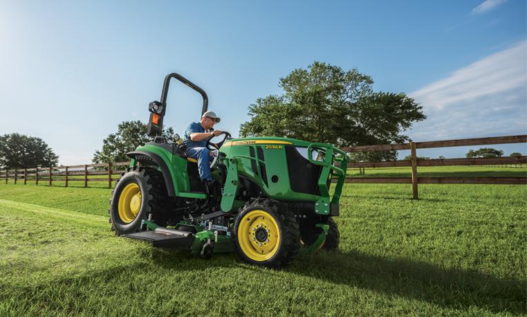 Compact Utility Tractors   2 Series Tractors   John Deere US