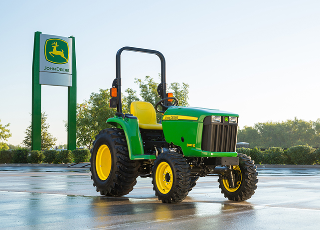 John Deere 3032E Compact Utility Tractor 3000 Series Compact Utility ...
