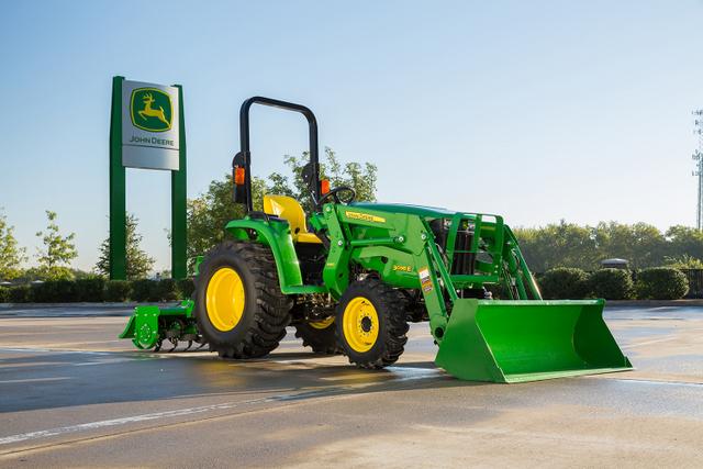 ... john deere 3032e and 3038e compact utility tractors feature customer